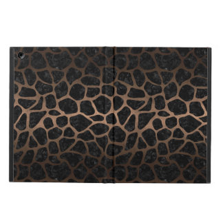 SKIN1 BLACK MARBLE & BRONZE METAL (R) iPad AIR COVER