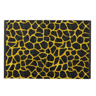 SKIN1 BLACK MARBLE & YELLOW MARBLE (R) COVER FOR iPad AIR