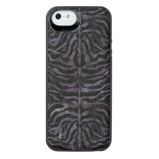 SKIN2 BLACK MARBLE & BLACK WATERCOLOR iPhone SE/5/5s BATTERY CASE