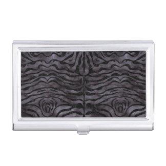 SKIN2 BLACK MARBLE & BLACK WATERCOLOR (R) BUSINESS CARD HOLDER