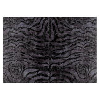 SKIN2 BLACK MARBLE & BLACK WATERCOLOR (R) CUTTING BOARD