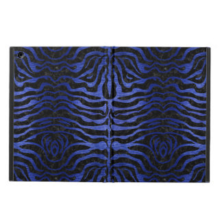 SKIN2 BLACK MARBLE & BLUE BRUSHED METAL CASE FOR iPad AIR