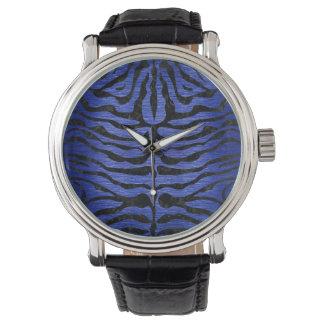 SKIN2 BLACK MARBLE & BLUE BRUSHED METAL (R) WATCH