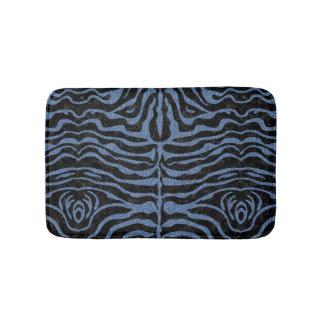 SKIN2 BLACK MARBLE & BLUE DENIM BATH MAT