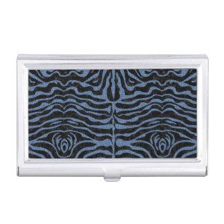 SKIN2 BLACK MARBLE & BLUE DENIM BUSINESS CARD HOLDER