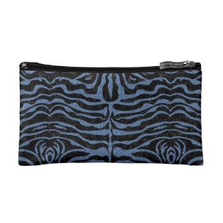 SKIN2 BLACK MARBLE & BLUE DENIM MAKEUP BAG