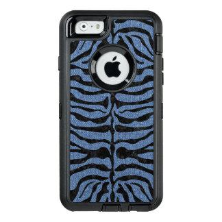 SKIN2 BLACK MARBLE & BLUE DENIM (R) OtterBox DEFENDER iPhone CASE