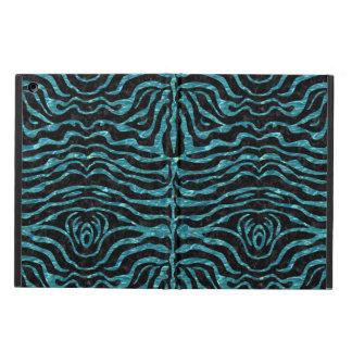 SKIN2 BLACK MARBLE & BLUE-GREEN WATER iPad AIR CASE