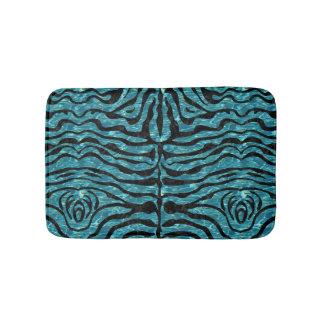SKIN2 BLACK MARBLE & BLUE-GREEN WATER (R) BATH MAT