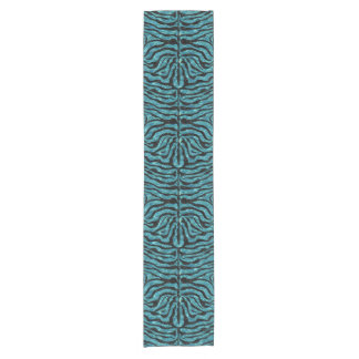 SKIN2 BLACK MARBLE & BLUE-GREEN WATER (R) SHORT TABLE RUNNER