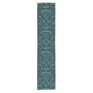 SKIN2 BLACK MARBLE & BLUE-GREEN WATER SHORT TABLE RUNNER