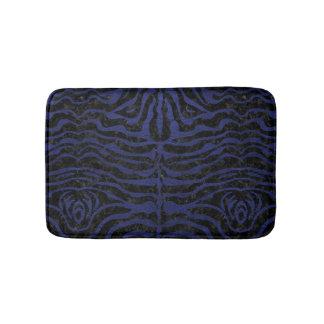 SKIN2 BLACK MARBLE & BLUE LEATHER BATH MAT