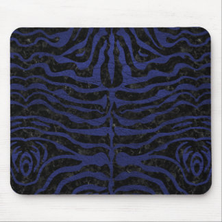 SKIN2 BLACK MARBLE & BLUE LEATHER MOUSE PAD