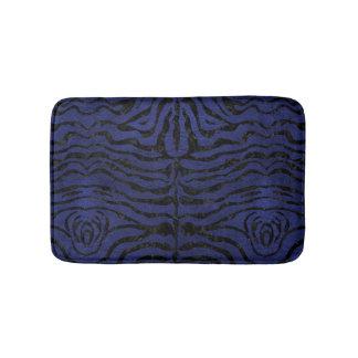 SKIN2 BLACK MARBLE & BLUE LEATHER (R) BATH MAT