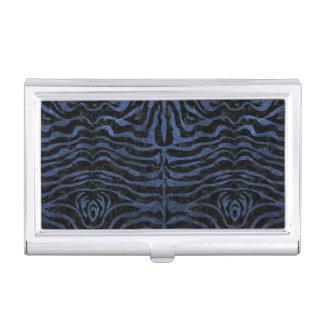 SKIN2 BLACK MARBLE & BLUE STONE BUSINESS CARD HOLDER