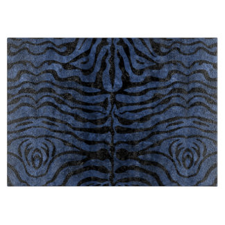 SKIN2 BLACK MARBLE & BLUE STONE (R) CUTTING BOARD
