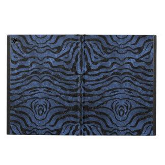 SKIN2 BLACK MARBLE & BLUE STONE (R) iPad AIR COVER