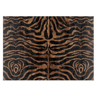 SKIN2 BLACK MARBLE & BROWN STONE CUTTING BOARD