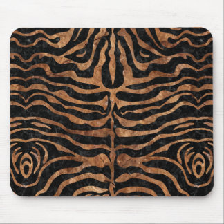 SKIN2 BLACK MARBLE & BROWN STONE MOUSE PAD