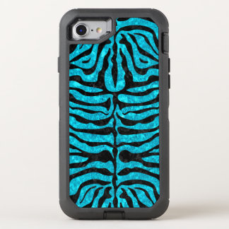 SKIN2 BLACK MARBLE & TURQUOISE MARBLE (R) OtterBox DEFENDER iPhone 8/7 CASE