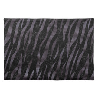 SKIN3 BLACK MARBLE & BLACK WATERCOLOR PLACEMAT
