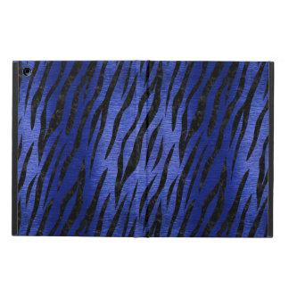 SKIN3 BLACK MARBLE & BLUE BRUSHED METAL (R) iPad AIR CASE