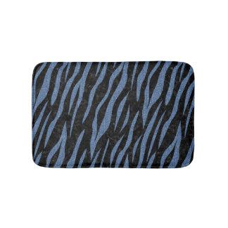 SKIN3 BLACK MARBLE & BLUE DENIM BATH MAT