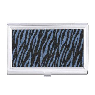 SKIN3 BLACK MARBLE & BLUE DENIM BUSINESS CARD HOLDER