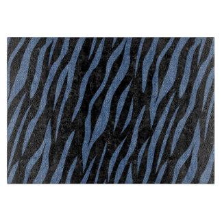 SKIN3 BLACK MARBLE & BLUE DENIM CUTTING BOARD