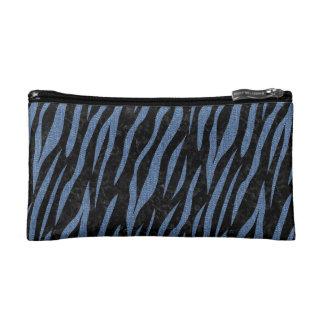 SKIN3 BLACK MARBLE & BLUE DENIM MAKEUP BAG