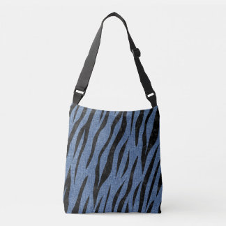 SKIN3 BLACK MARBLE & BLUE DENIM (R) CROSSBODY BAG