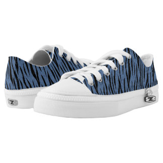 SKIN3 BLACK MARBLE & BLUE DENIM (R) LOW TOPS