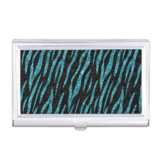 SKIN3 BLACK MARBLE & BLUE-GREEN WATER BUSINESS CARD HOLDER