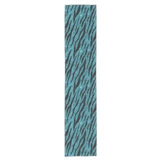 SKIN3 BLACK MARBLE & BLUE-GREEN WATER (R) SHORT TABLE RUNNER