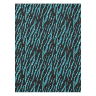 SKIN3 BLACK MARBLE & BLUE-GREEN WATER TABLECLOTH