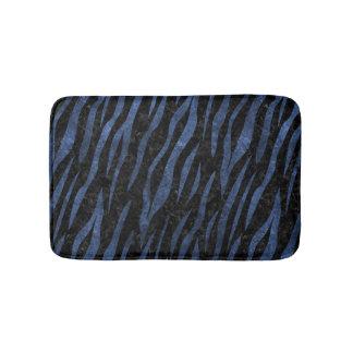 SKIN3 BLACK MARBLE & BLUE LEATHER BATH MAT