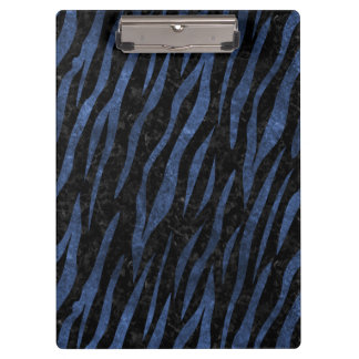SKIN3 BLACK MARBLE & BLUE STONE CLIPBOARD