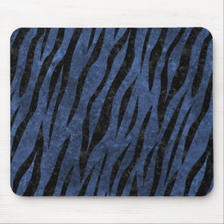 SKIN3 BLACK MARBLE & BLUE STONE (R) MOUSE PAD