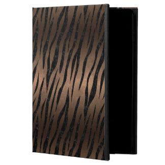 SKIN3 BLACK MARBLE & BRONZE METAL (R) POWIS iPad AIR 2 CASE