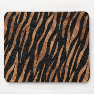 SKIN3 BLACK MARBLE & BROWN STONE MOUSE PAD
