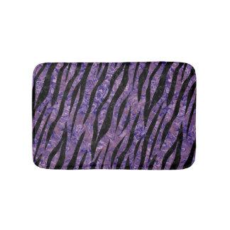SKIN3 BLACK MARBLE & PURPLE MARBLE (R) BATH MAT