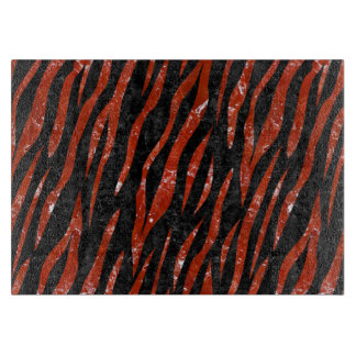 SKIN3 BLACK MARBLE & RED MARBLE CUTTING BOARD