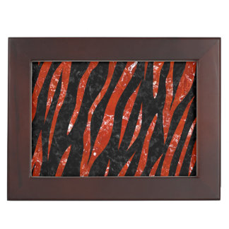 SKIN3 BLACK MARBLE & RED MARBLE KEEPSAKE BOX