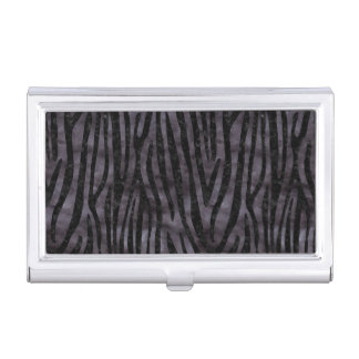 SKIN4 BLACK MARBLE & BLACK WATERCOLOR CASE FOR BUSINESS CARDS