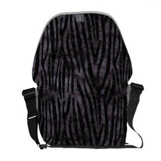 SKIN4 BLACK MARBLE & BLACK WATERCOLOR COURIER BAG