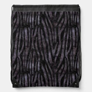 SKIN4 BLACK MARBLE & BLACK WATERCOLOR (R) DRAWSTRING BAG