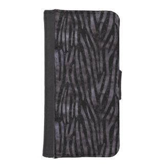 SKIN4 BLACK MARBLE & BLACK WATERCOLOR (R) iPhone SE/5/5s WALLET CASE