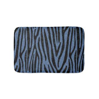 SKIN4 BLACK MARBLE & BLUE DENIM BATH MAT