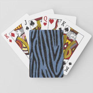 SKIN4 BLACK MARBLE & BLUE DENIM PLAYING CARDS