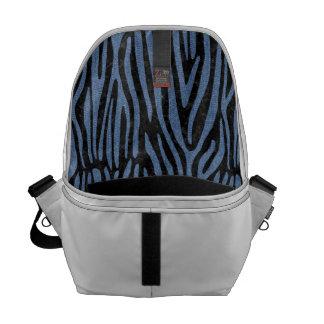 SKIN4 BLACK MARBLE & BLUE DENIM (R) COMMUTER BAG